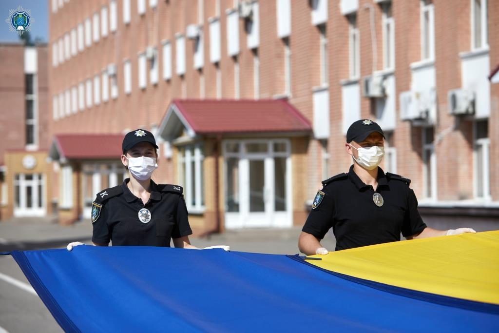Курсанти ДДУВС: «День Конституції України – це свято, і для нас воно знакове!»
