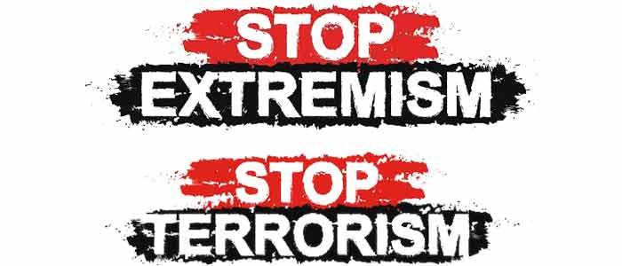 Небезпека та масштаби екстремізму і терористичної загрози, формування нетерпимості та проявів тероризму та осіб з екстремістською ідеологією